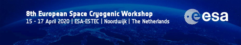 8th European Space Cryogenics Workshop - postponed to 2021