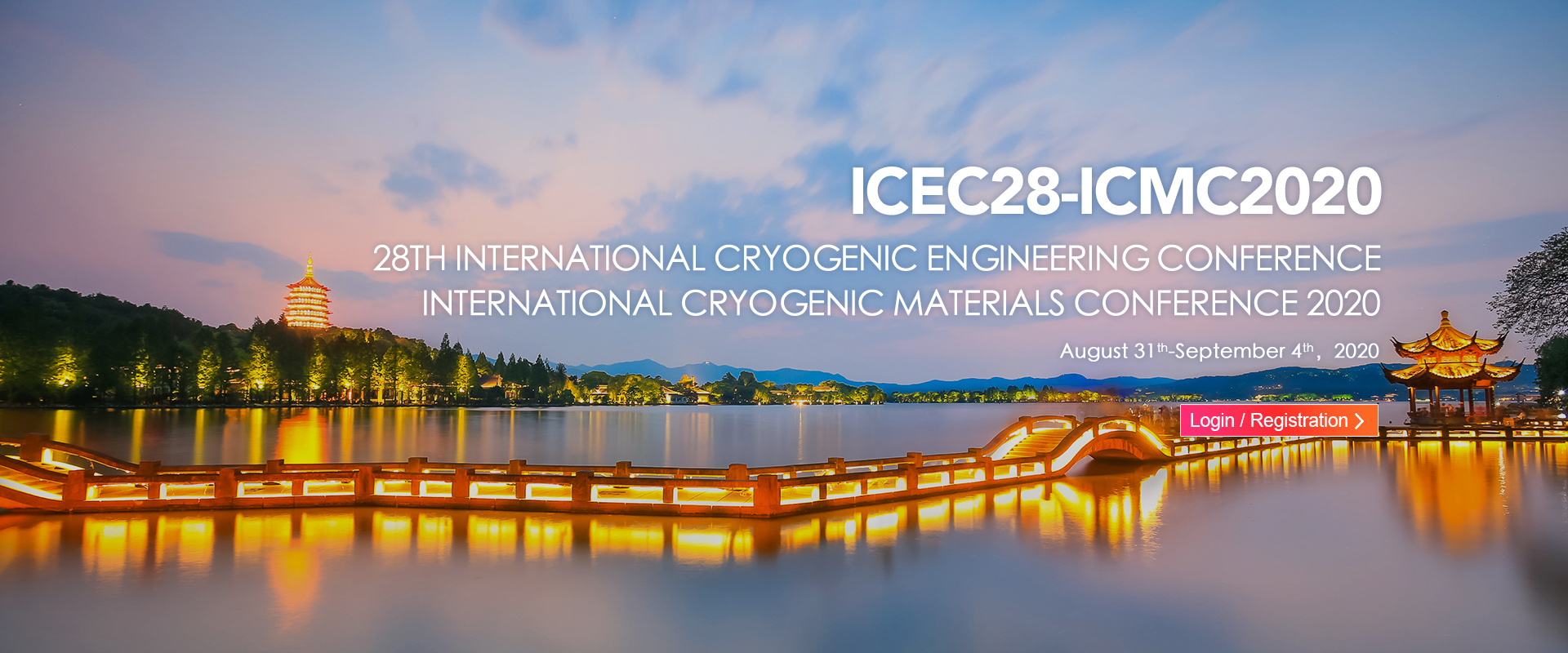 28th International Cryogenic Engineering Conference and International Cryogenic Materials Conference 2020