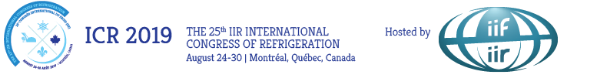 The 25th International Congress of Refrigeration
