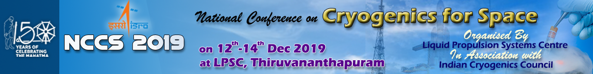 National Conference on Cryogenics for Space 2019