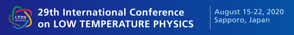 29th International Conference on Low Temperature Physics - postponed to 2022