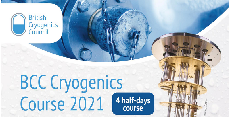 BCC Cryogenics Course 2021
